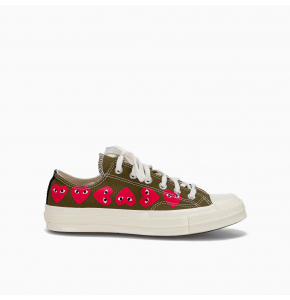 Chuck Taylor low-top multi-heart