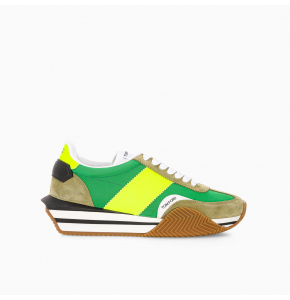 Green Moss James sneaker