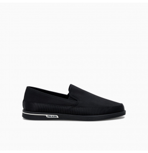 Side logo loafers from Prada