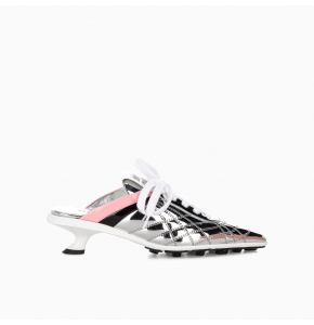 Metallic Mid heel sneakers