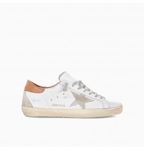 Super-Stars sneakers with brown heel tab