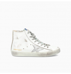 Francy high-top sneakers with silver star
