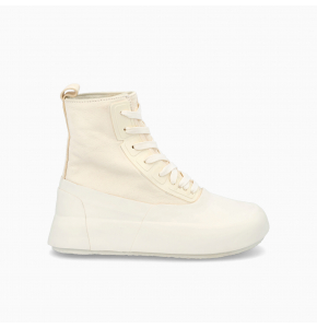 Leather Mix Hi-Top sneakers