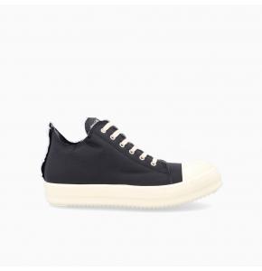 Low-top nylon sneakers