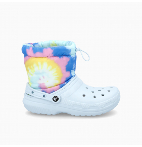 Classic Lined Neo Puff Tie Dye Boot