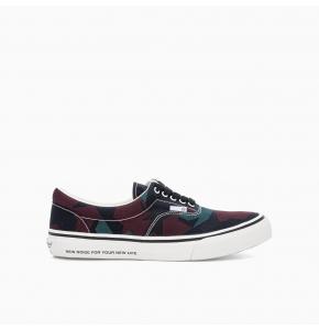 Low top camo sneakers