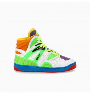 Multicolored Gucci Basket sneaker