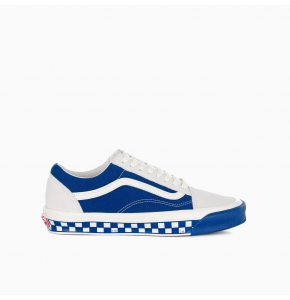 Blue and white Old School OG LX