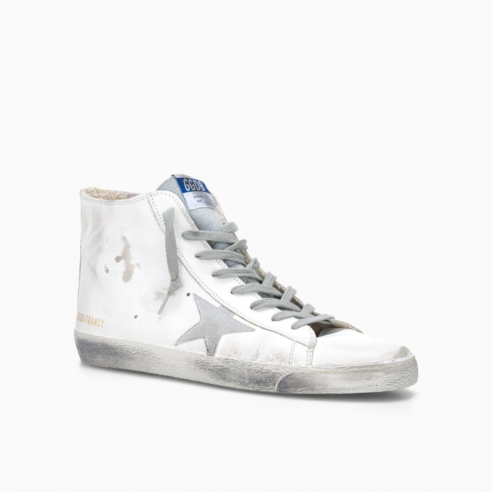 Francy sneakers WHITE SILVER