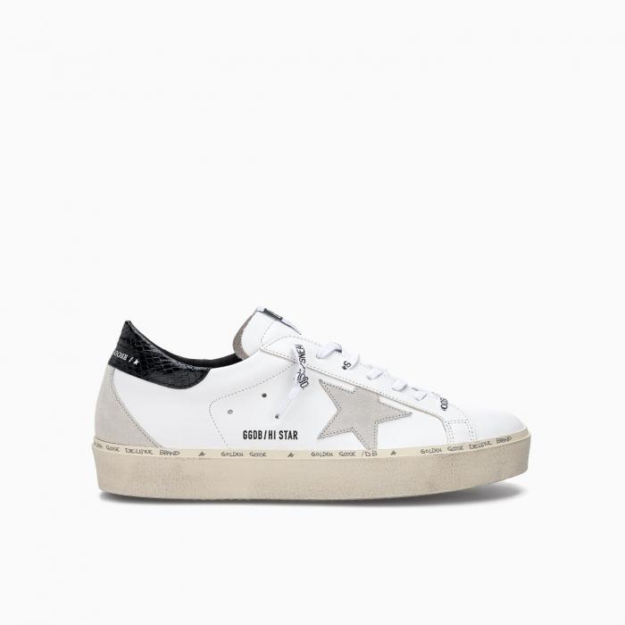 Hi star low top sneakers WHITE BLACK