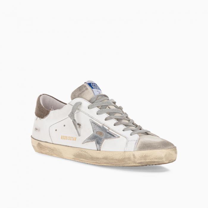 Superstar low-top sneakers with canvas heel counter