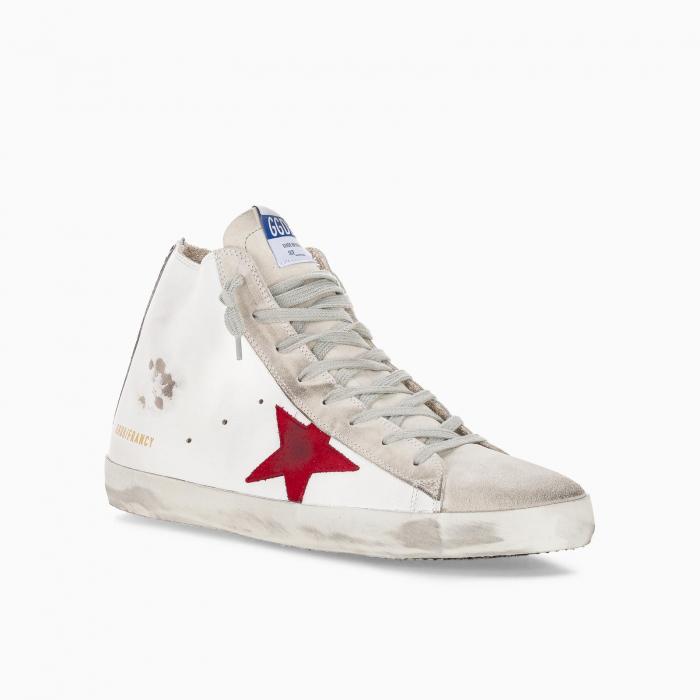 Superstar Hi sneakers with zebra print heel tab