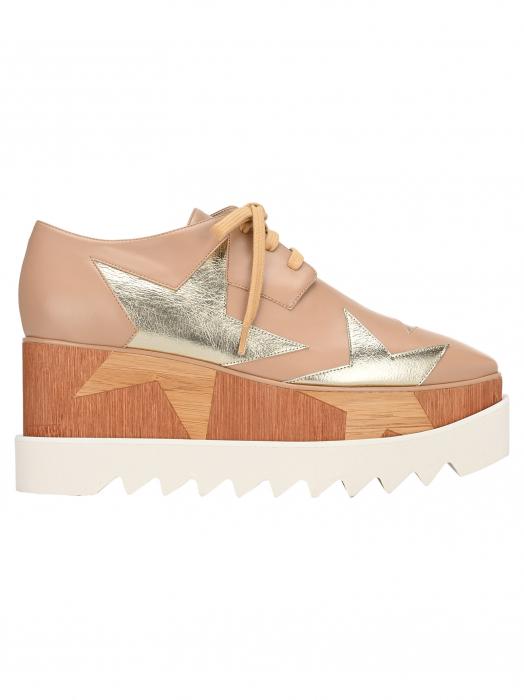 Elyse platform laced shoes