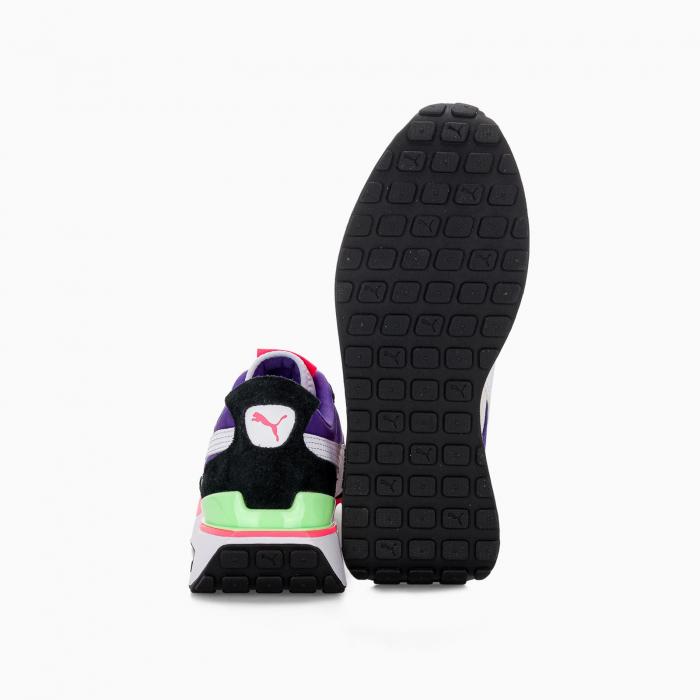 Cruise rider sneaker FUXIA BLACK PURPLE