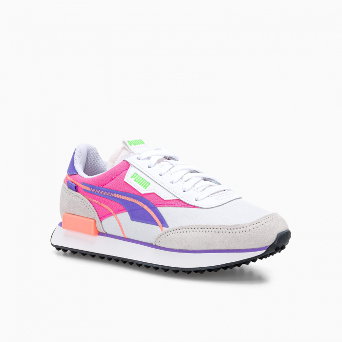 Future rider twofold sd sneaker WHITE PINK FLUO