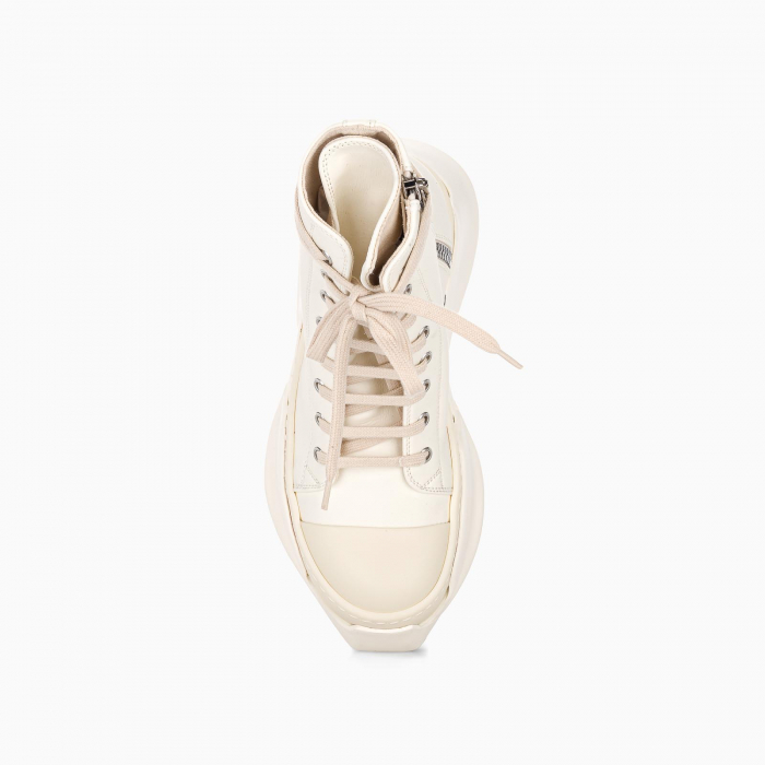 White Phlegethon Abstract Sneakers