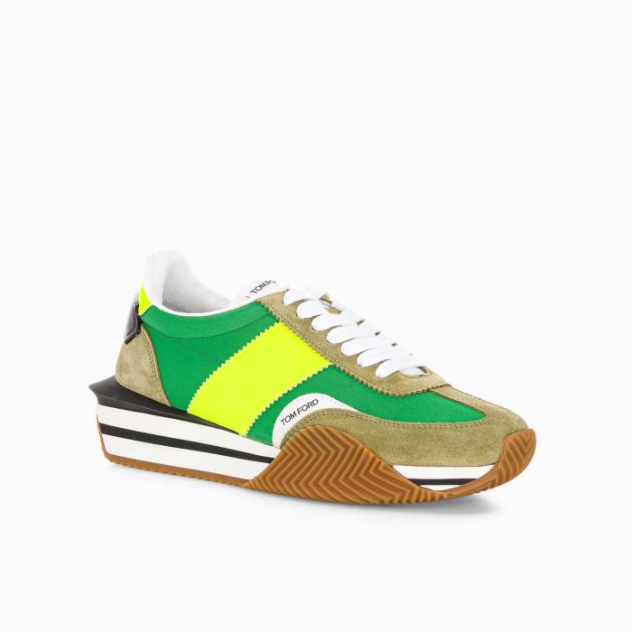 Green Moss James sneaker