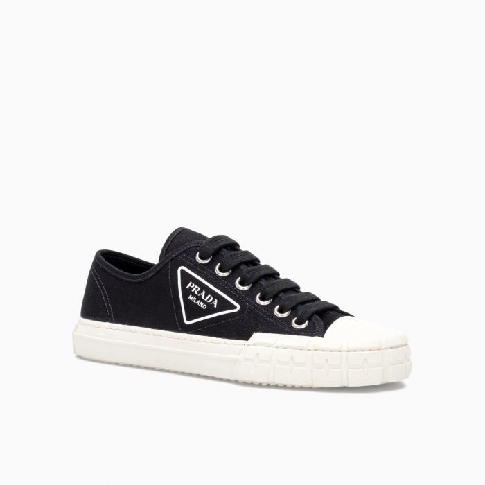 COTTON CANVAS SNEAKERS