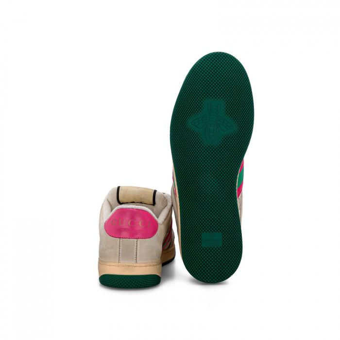 Women's Screener leather sneaker