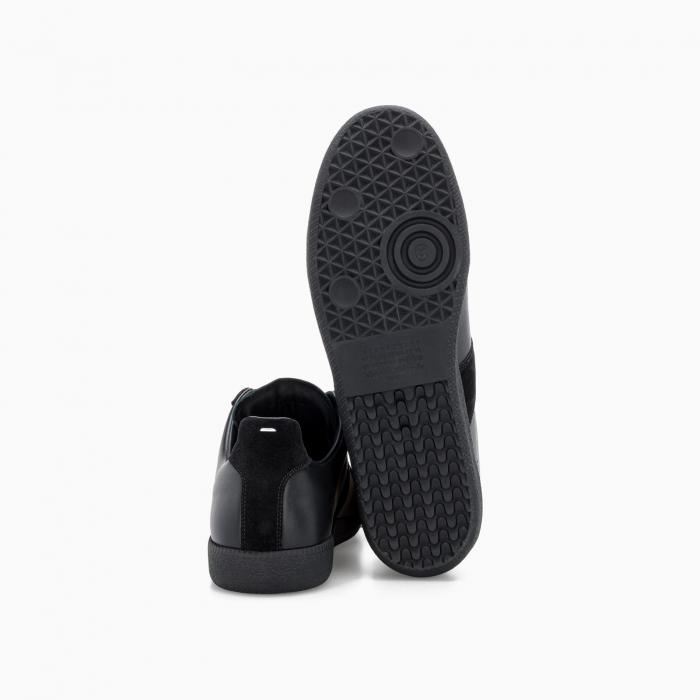 Replica low top sneakers Black