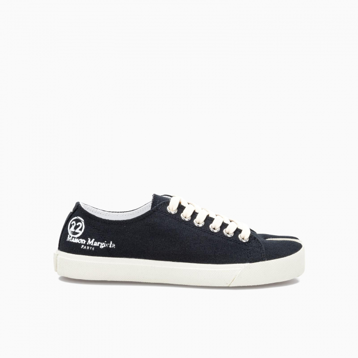 Tabi canvas sneakers Black