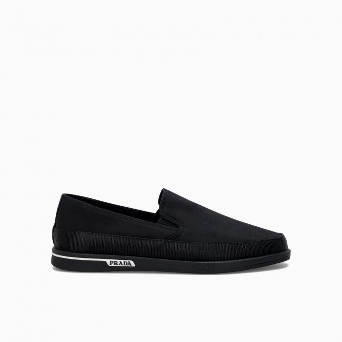 Side logo loafers from Prada