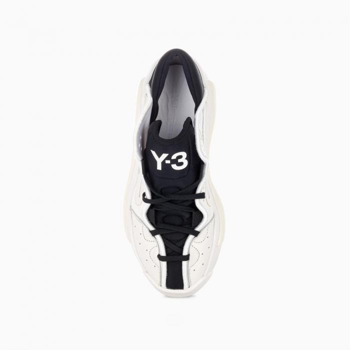 White and black Y-3 Hokori II