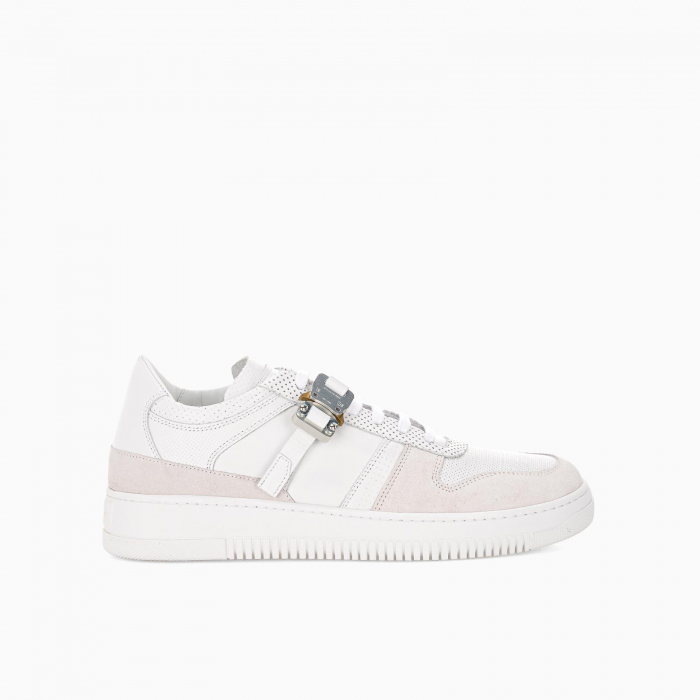 Buckle low top trainers
