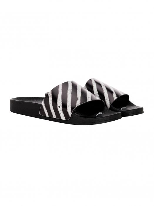 Zebra print sliders