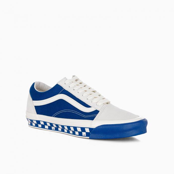 Blue and white Old School OG LX